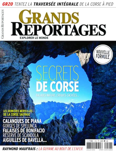 Grands Reportages - Juillet 2016