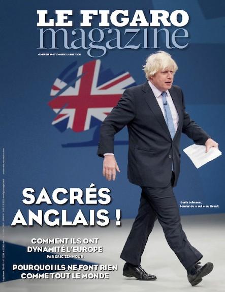 Le Figaro Magazine - Juillet 2016 : Sacrés anglais !