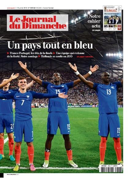 Journal du Dimanche - 10 Juillet 2016