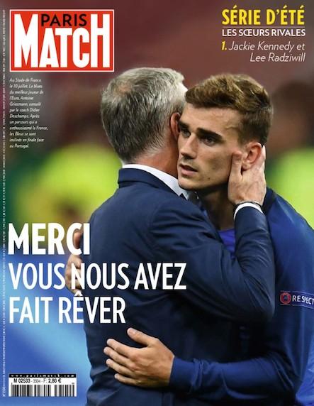 Paris Match N°3504 Juillet 2016