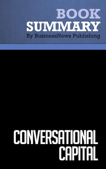 Summary: Conversational Capital - Bertrand Cesvet, Tony Babinsky and Eric Alper
