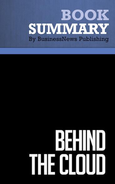 Summary: Behind the Cloud - Marc Benioff
