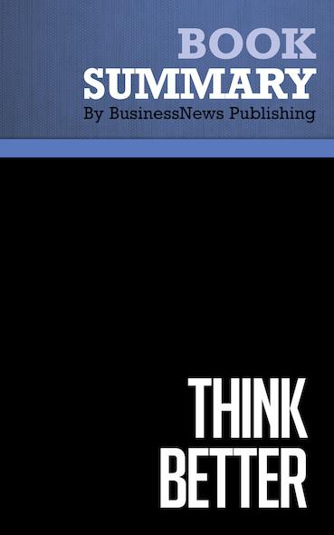 Summary : Think Better - Tim Hurson