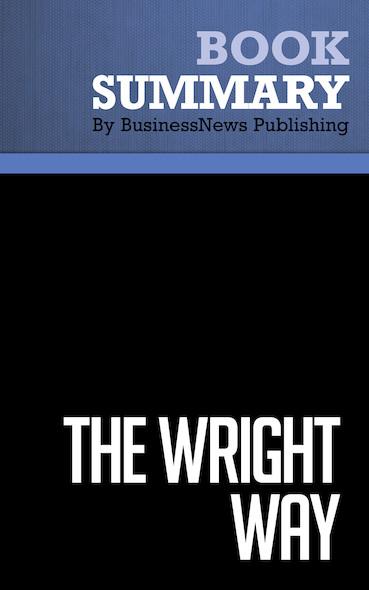 Summary: The Wright Way - Mark Eppler