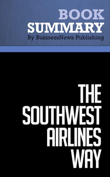 Summary : The Southwest Airlines Way - Jody Gittell