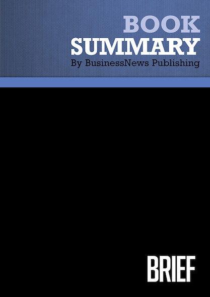 Summary : Brief - Joseph Mccormack