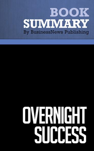 Summary : Overnight Success - Vance Trimble