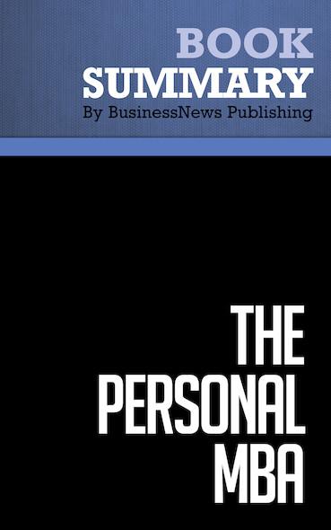 Summary : The Personal MBA - Josh Kaufman
