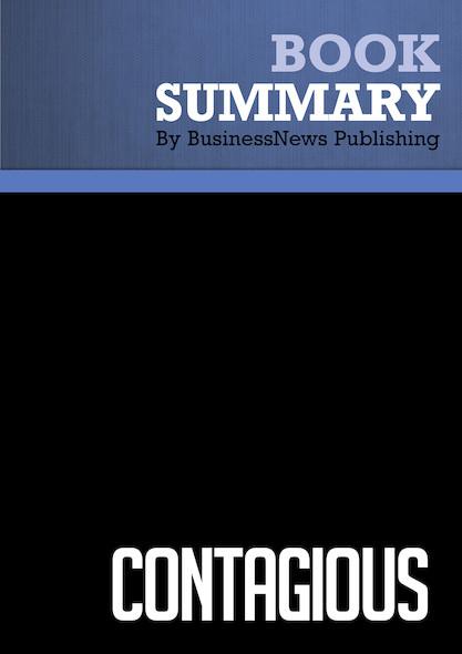 Summary : Contagious - Jonah Berger