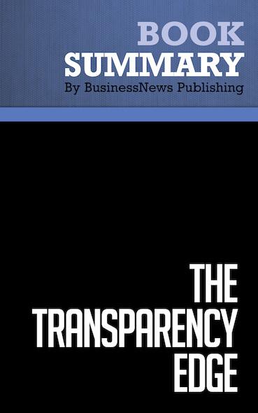 Summary : The Transparency Edge - Barbara Pagano and Elizabeth Pagano