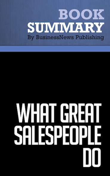 summary on salespeople Secrets of power negotiating for salespeople summary by roger dawson as the title implies contains powerful tips on negotiation.