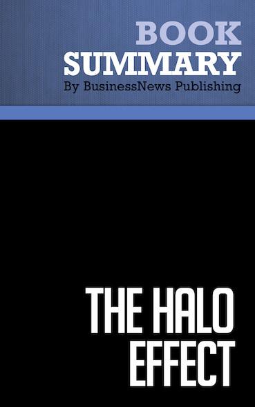 Summary : The Halo Effect - Phil Rosenzweig