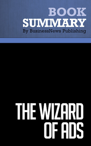 Summary: The Wizard of Ads - Roy H. Williams