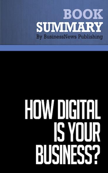 Summary: How Digital is Your Businessﻡ؛ﻅﻡﻑ٥? - Adrian Slywotzky and David Morrison