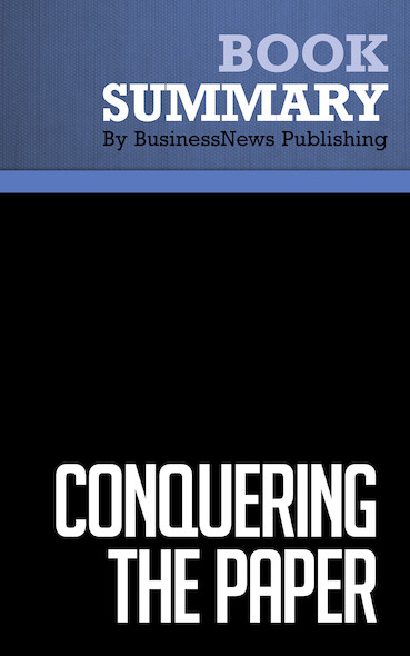 Summary: Conquering the Paper Pile-Up - Stephanie Culp