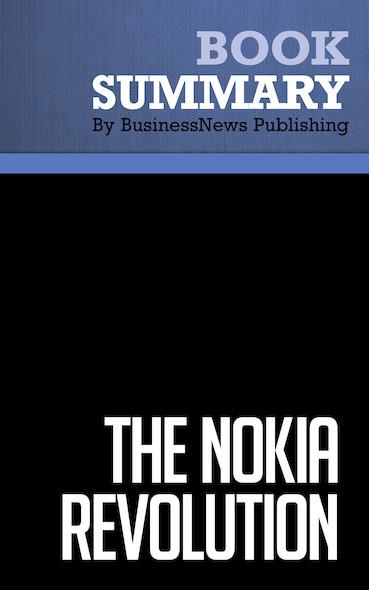 Summary: The Nokia Revolution - Dan Steinbock