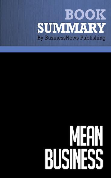 Summary: Mean Business - Albert J. Dunlap