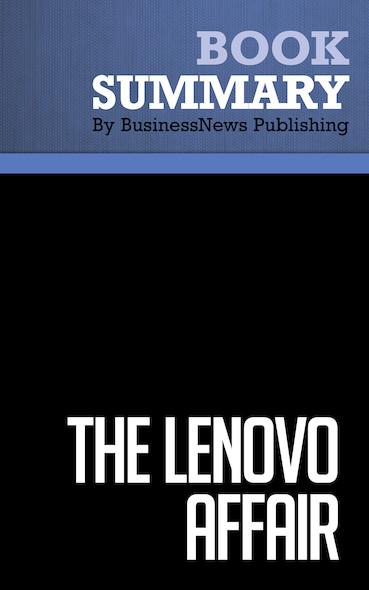 Summary: The Lenovo Affair - Ling Zhijun