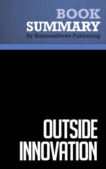 Summary : Outside innovation - Patricia Seybold