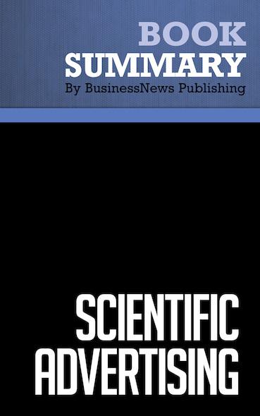 Summary : Scientific Advertising - Claude Hopkins