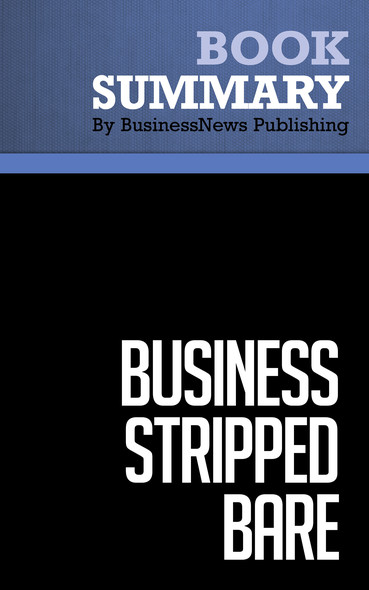 Summary: Business Stripped Bare - Richard Branson