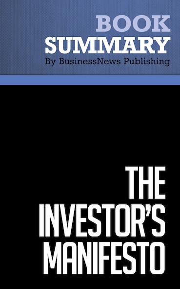 Summary : The Investor's Manifesto - William J. Bernstein
