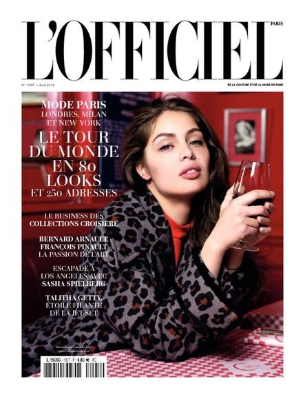 L'Officiel Mode et Couture - N°1007 - Juillet 2016