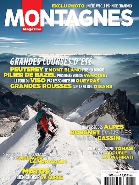 Montagnes Magazine - Aout 2016