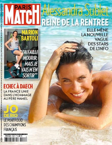 Paris Match N°3507 Août 2016