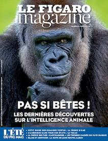 Le Figaro Magazine - Août 2016 : Les dernieres découvertes sur l'intelligence animale |