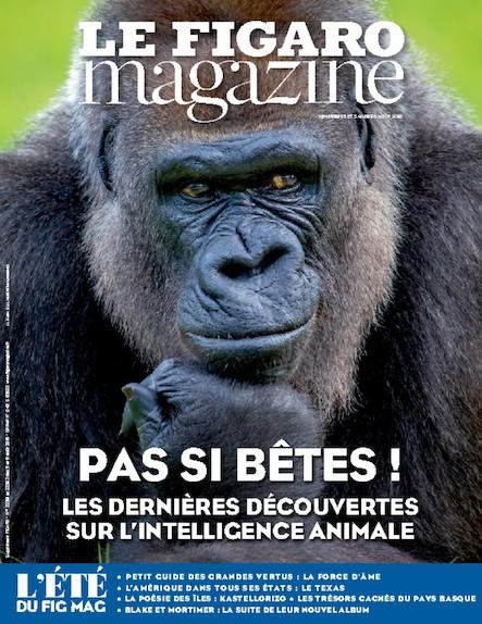 Le Figaro Magazine - Août 2016 : Les dernieres découvertes sur l'intelligence animale
