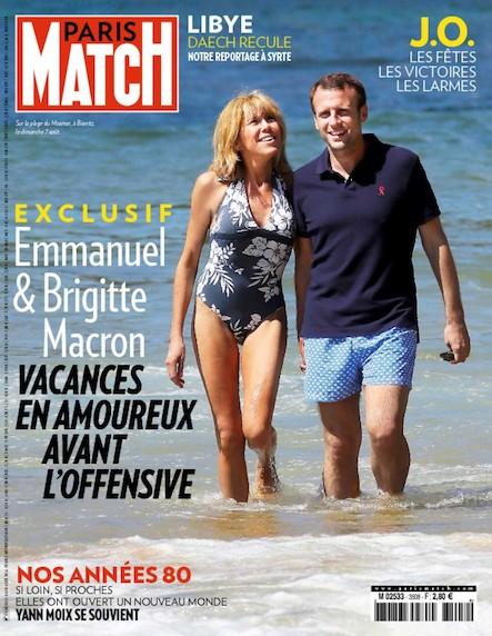 Paris Match N°3508 Août 2016