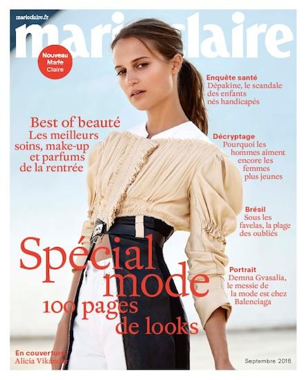Marie Claire - Septembre 2016
