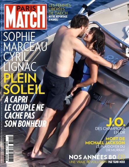 Paris Match N°3509 Août 2016