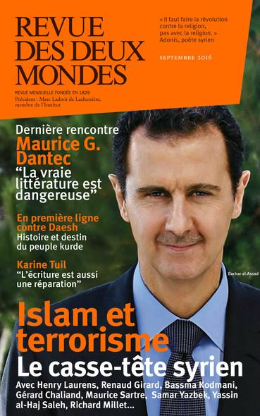 Revue des Deux Mondes septembre 2016 : Islam et terrorisme, le casse-tête syrien
