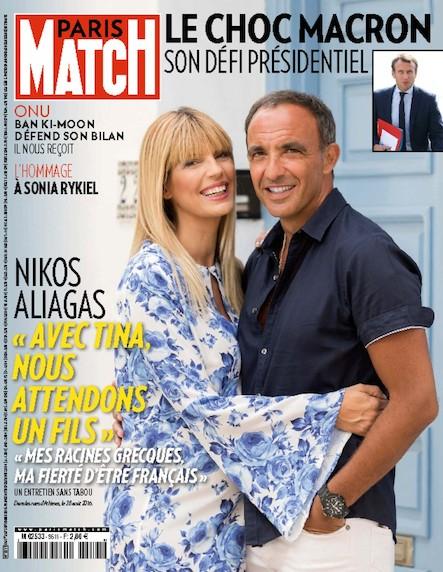 Paris Match N°3511 Septembre 2016