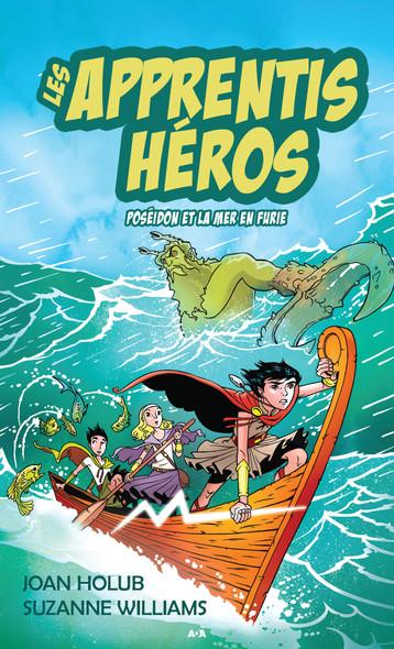 Les apprentis héros : Poseidon et la mer en furie