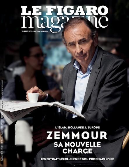 Le Figaro Magazine - Septembre 2016 : Zemour : Sa nouvelle charge