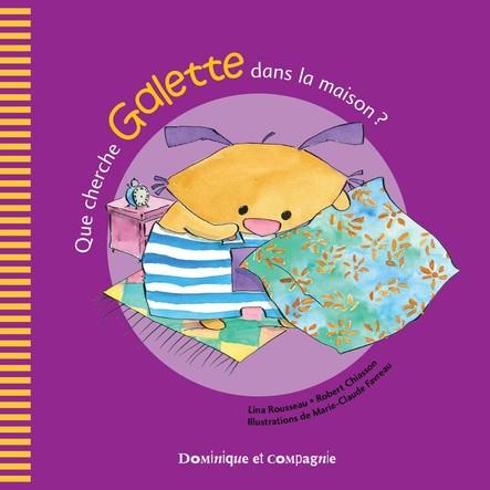 Que cherche Galette dans la maison ?