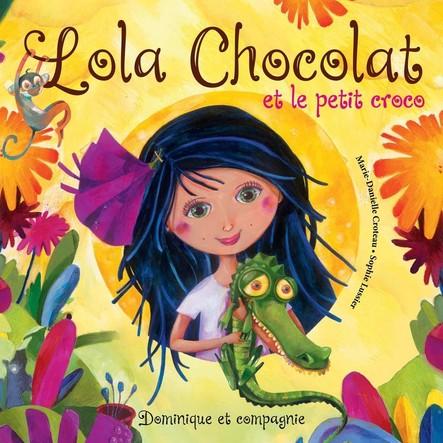 Lola Chocolat et le petit croco