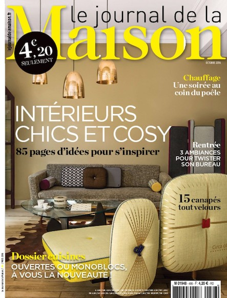 Le Journal de la maison - Octobre 2016