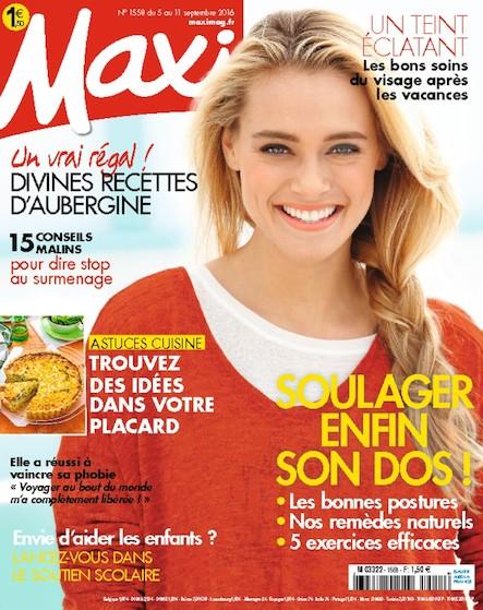 Maxi   Septembre 2016   N°1558