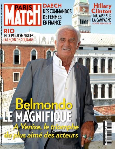 Paris Match N°3513 Septembre 2016