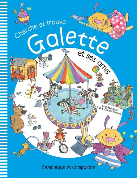 Cherche et trouve Galette et ses amis
