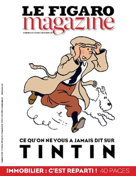 Le Figaro Magazine - Septembre 2016 : Ce qu'on ne vous a jamais dit sur Tintin