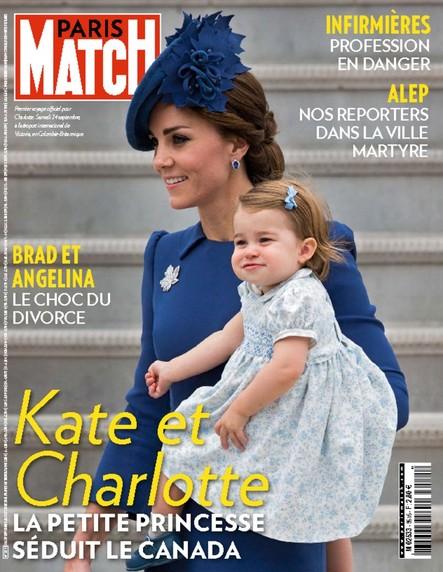 Paris Match N°3516 Septembre 2016