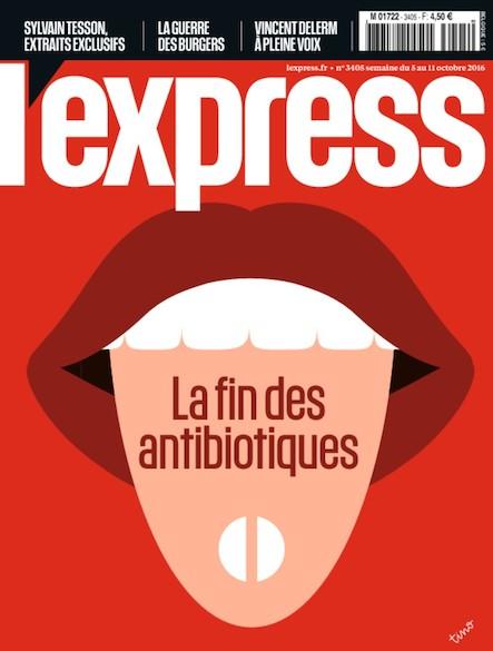 L'express - Octobre 2016 - La fin des antibiotiques