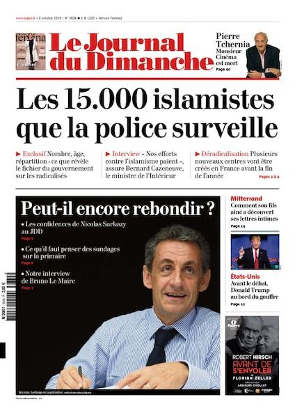 Journal du Dimanche - 9 Octobre 2016