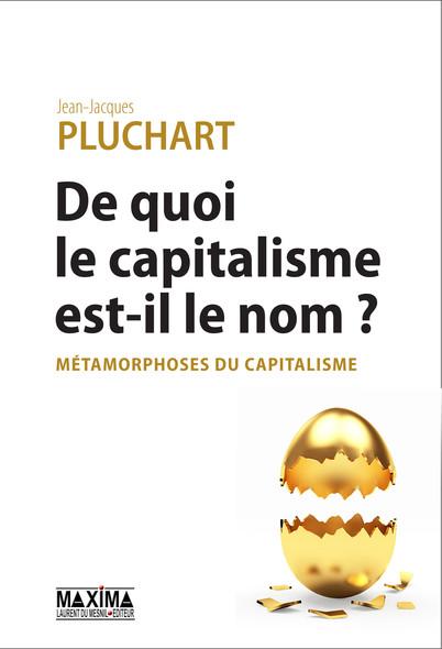 De quoi le capitalisme est-il le nom ? : Métamorphoses du capitalisme