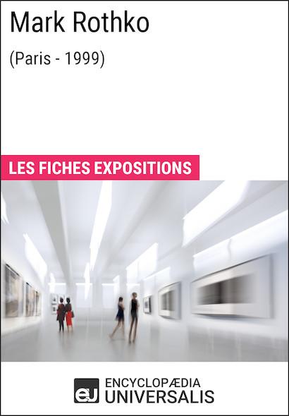 Mark Rothko (Paris - 1999)